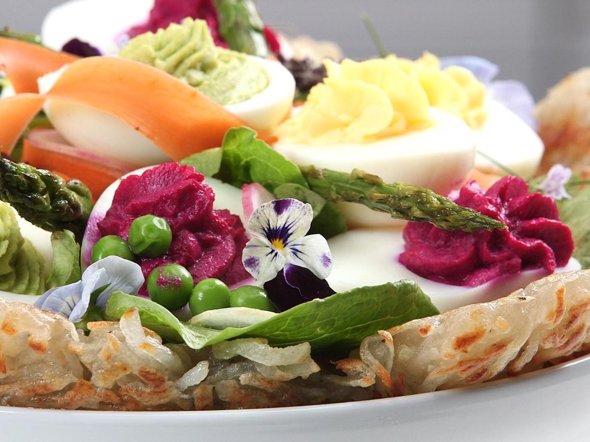 Vegetarian Recipes For Easter  Ve arian Easter Basket Recipe Cooking Light