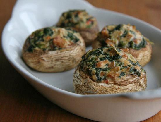 Vegetarian Recipes Mushrooms  Vegan Stuffed Mushroom Recipe