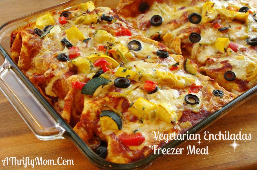 Vegetarian Recipes Video  Ve arian Enchiladas Ve arian Recipe Freezer Meal