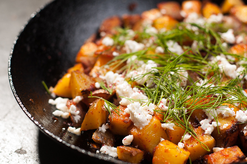 Vegetarian Recipes With Potatoes  Harissa Potatoes Recipe