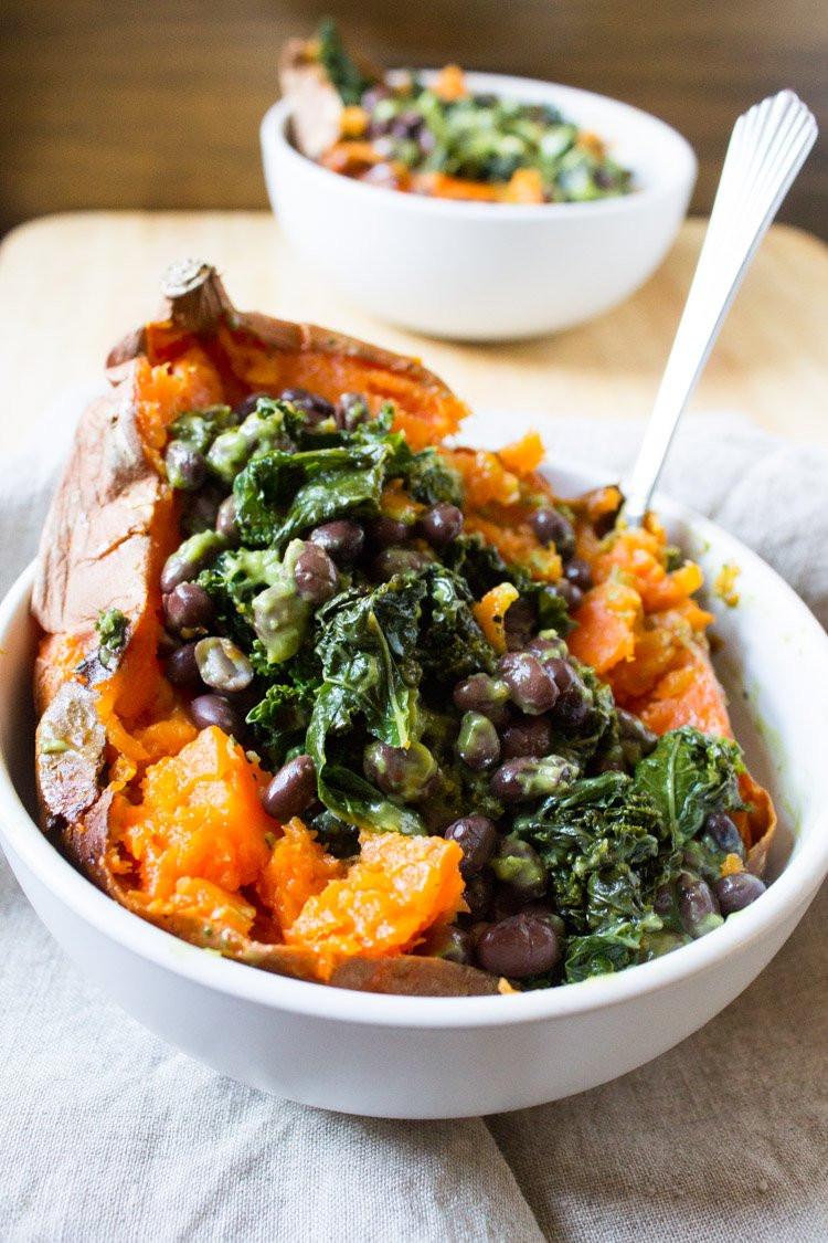 Vegetarian Recipes With Potatoes  18 Baked Sweet Potato Recipes