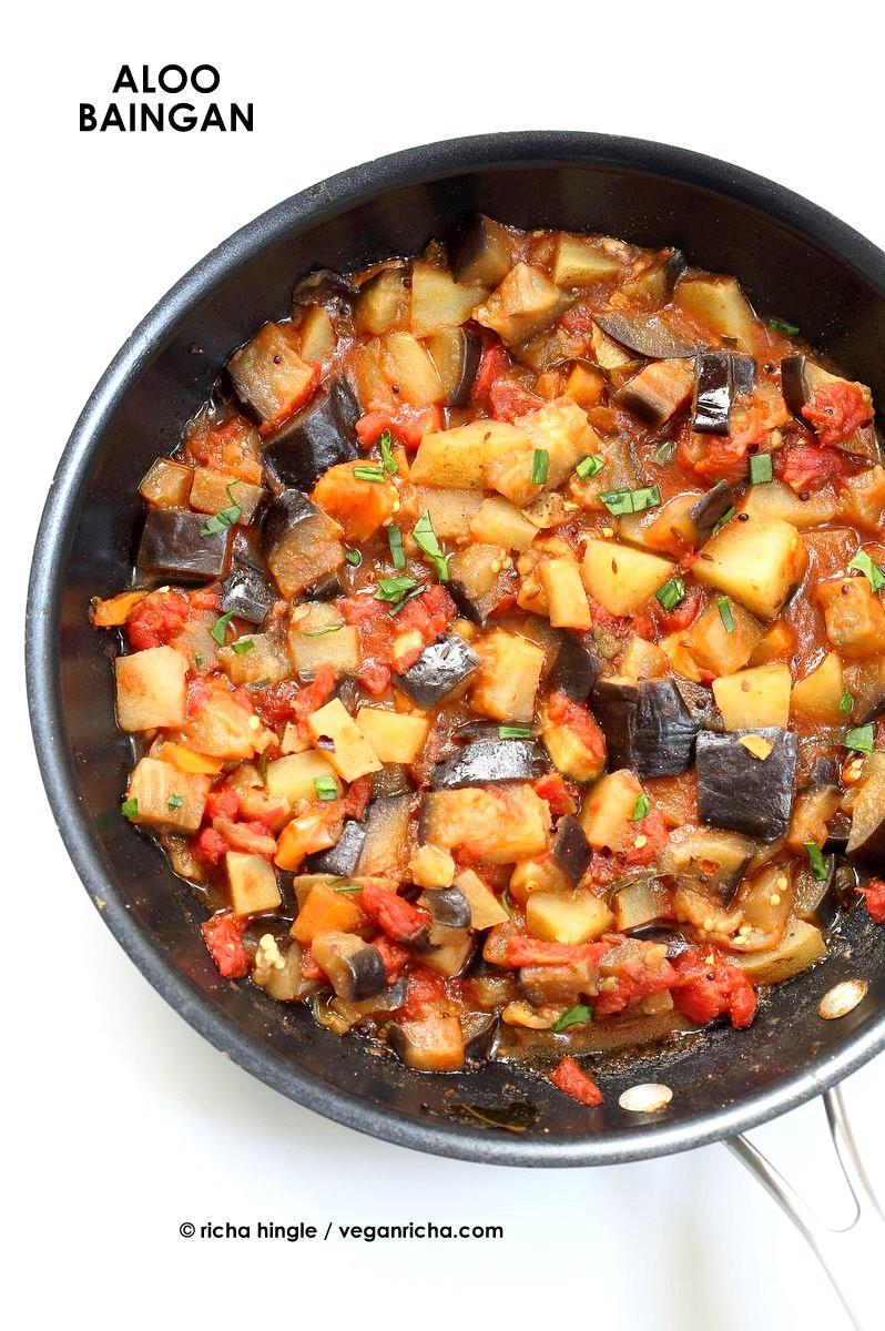 Vegetarian Recipes With Potatoes  Popular Vegan Indian Curries & Entrees Recipes Vegan Richa