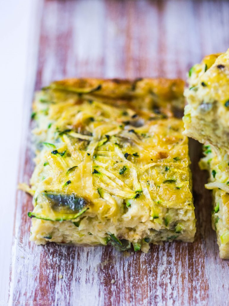 Vegetarian Recipes With Zucchini  easy ve arian zucchini slice recipe