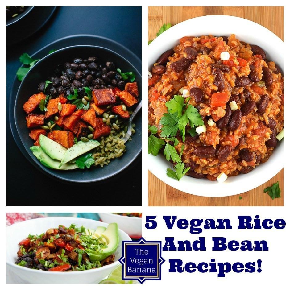 Vegetarian Rice And Bean Recipes  5 Vegan Bean And Rice Recipes • The Vegan Banana