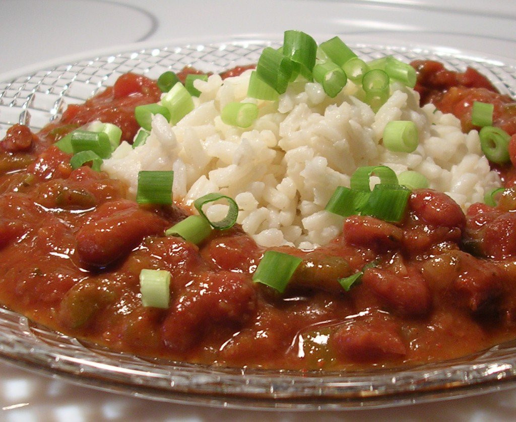Vegetarian Rice And Bean Recipes  Savory Ve arian Red Beans and Rice Recipe
