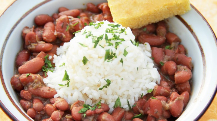 Vegetarian Rice And Bean Recipes  Ve arian Louisiana Style Red Beans and Rice Recipes