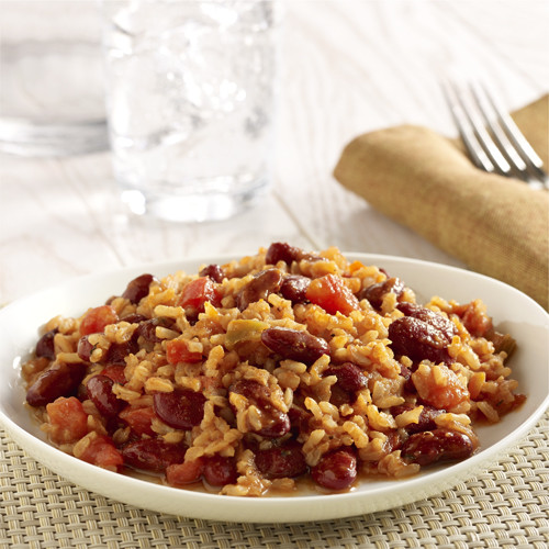 Vegetarian Rice And Beans  Ve arian Red Beans and Rice
