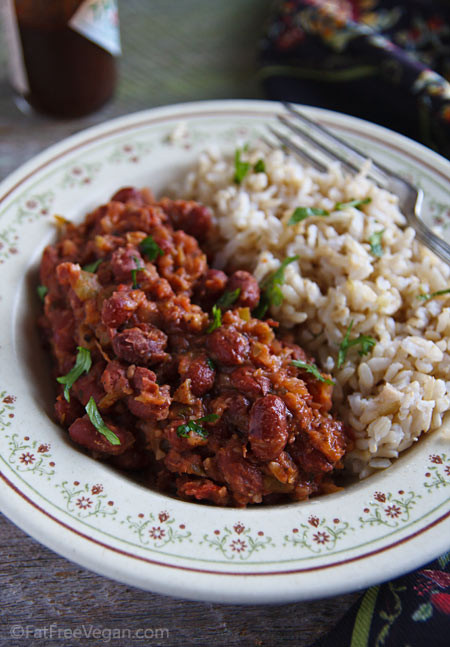 Vegetarian Rice And Beans  Easy Red Beans and Rice