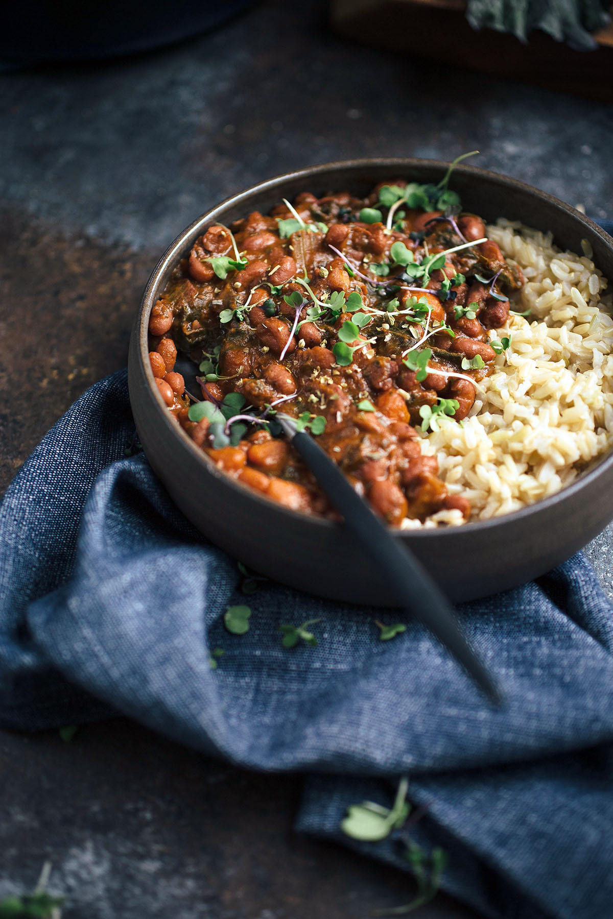 Vegetarian Rice And Beans  Smoky Ve arian Red Beans and Rice