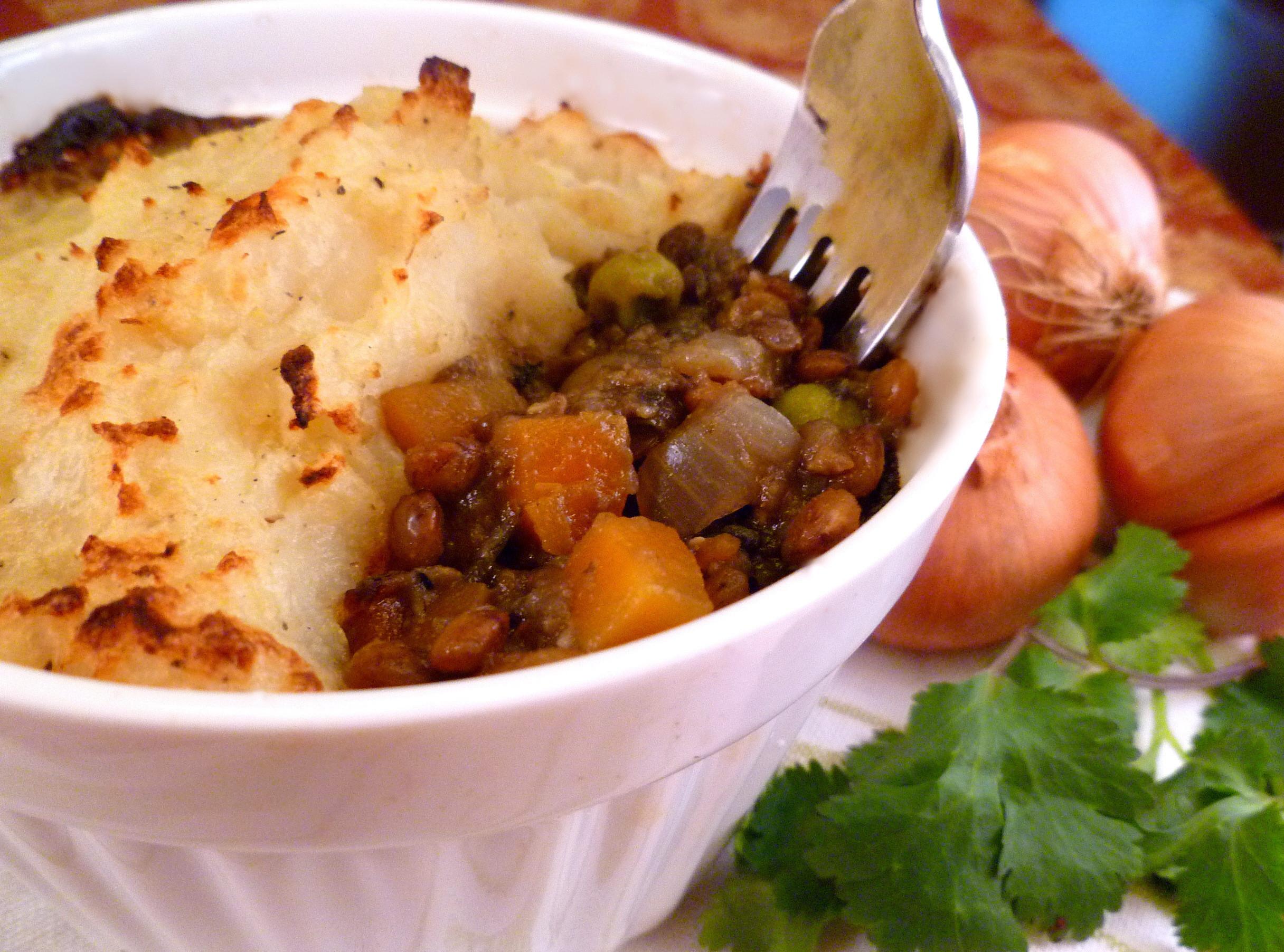 Vegetarian Shephards Pie  Vegan Shepherd's Pie No Guilt Version