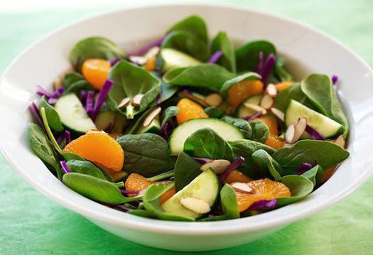 Vegetarian Spinach Salad Recipes  Healthy Easy Spinach Salad Recipes to Pack Tomorrow