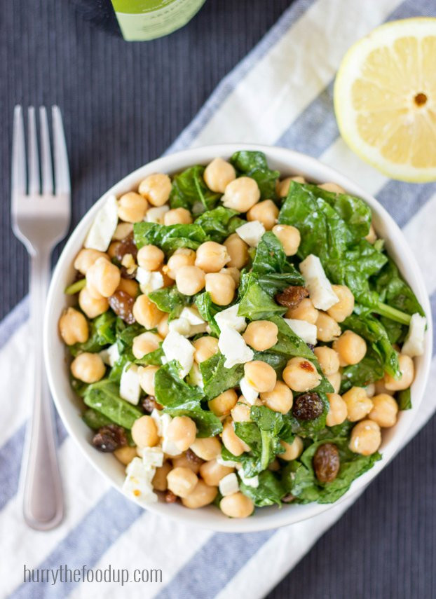 Vegetarian Spinach Salad Recipes  18 Ve arian Lunch Ideas To Pack For Work