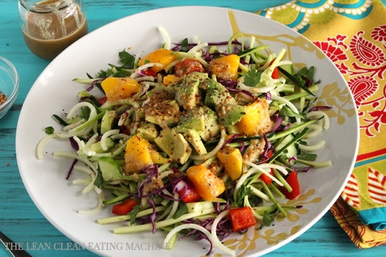 Vegetarian Summer Recipes  Summer Glow Salad The Lean Clean Eating Machine