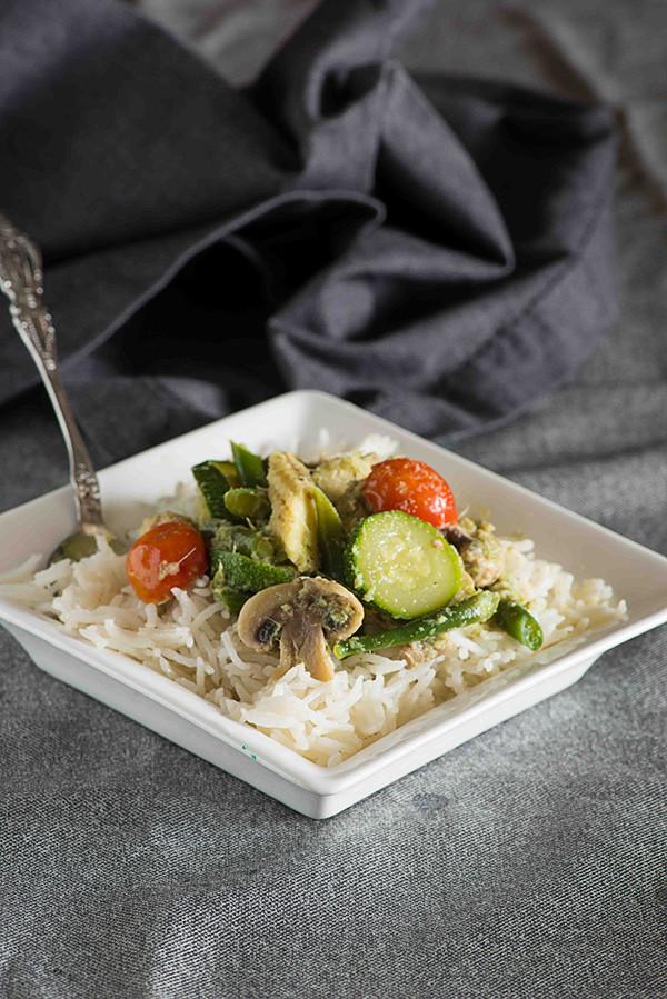 Vegetarian Thai Green Curry Recipes  Thai Veg Green Curry