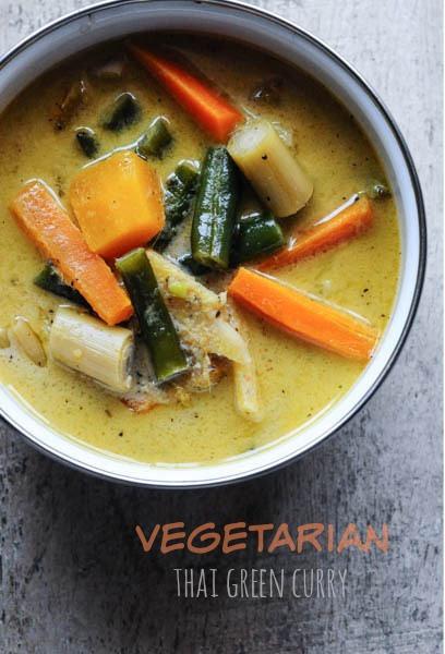 Vegetarian Thai Green Curry Recipes  Ve arian Thai Green Curry Recipe Step by Step Edible
