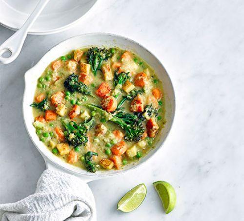 Vegetarian Thai Green Curry Recipes  Light Thai green curry recipe
