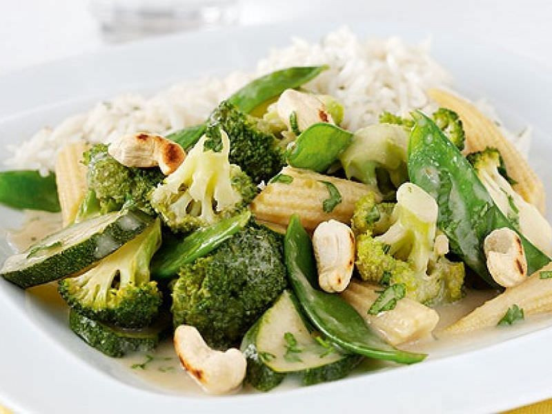 Vegetarian Thai Green Curry Recipes  Recipe Thai Ve arian Green Curry ImportFood