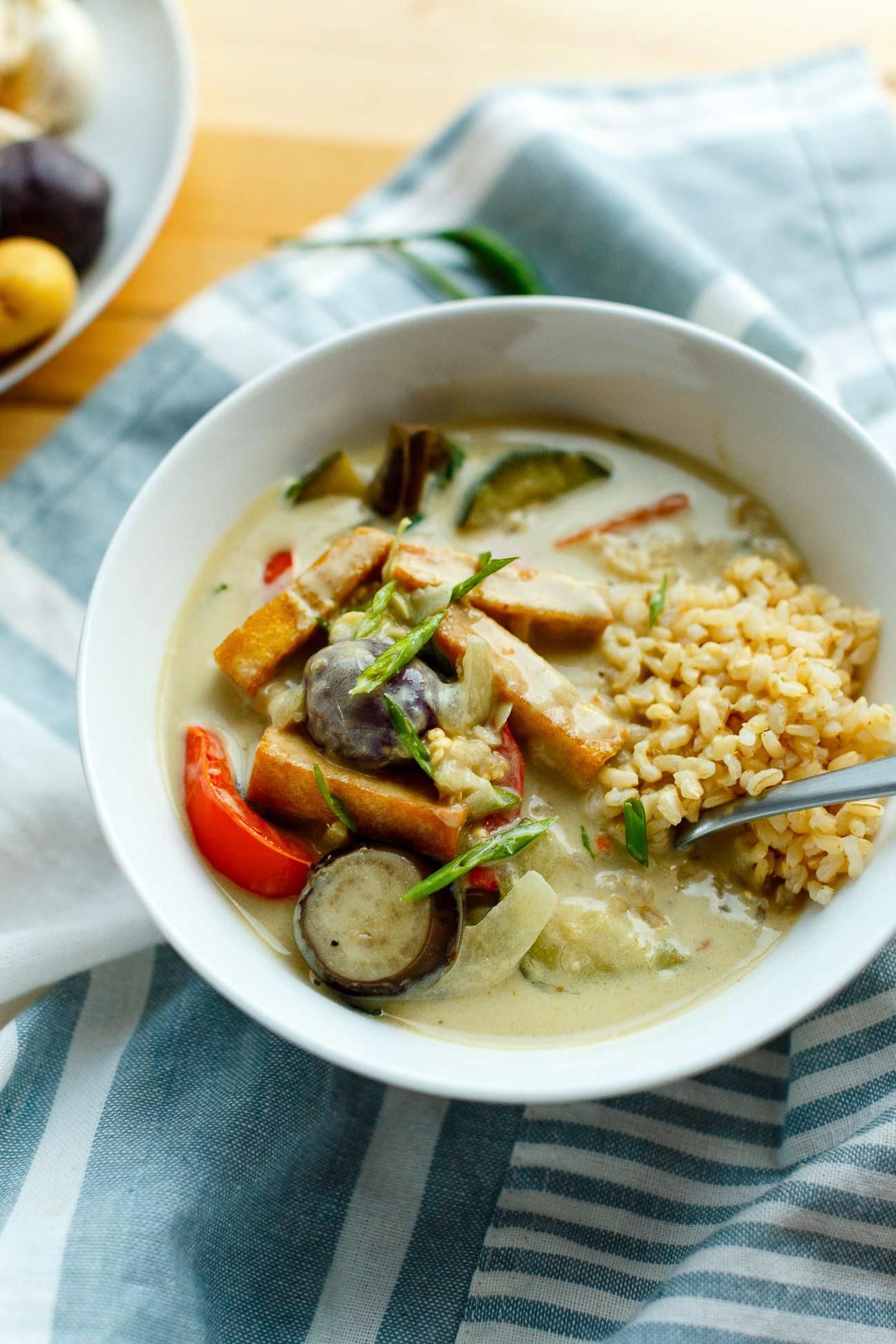 Vegetarian Thai Green Curry Recipes  Vegan Thai Green Curry I LOVE VEGAN ilovevegan