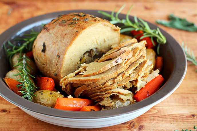 Vegetarian Thanksgiving Protein  [VIDEO] How Do They Make Tofurky Roast