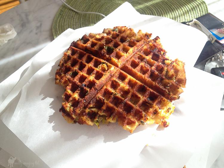 Vegetarian Waffles Recipe  T Giving Stuffing Waffles – Cathy Merenda