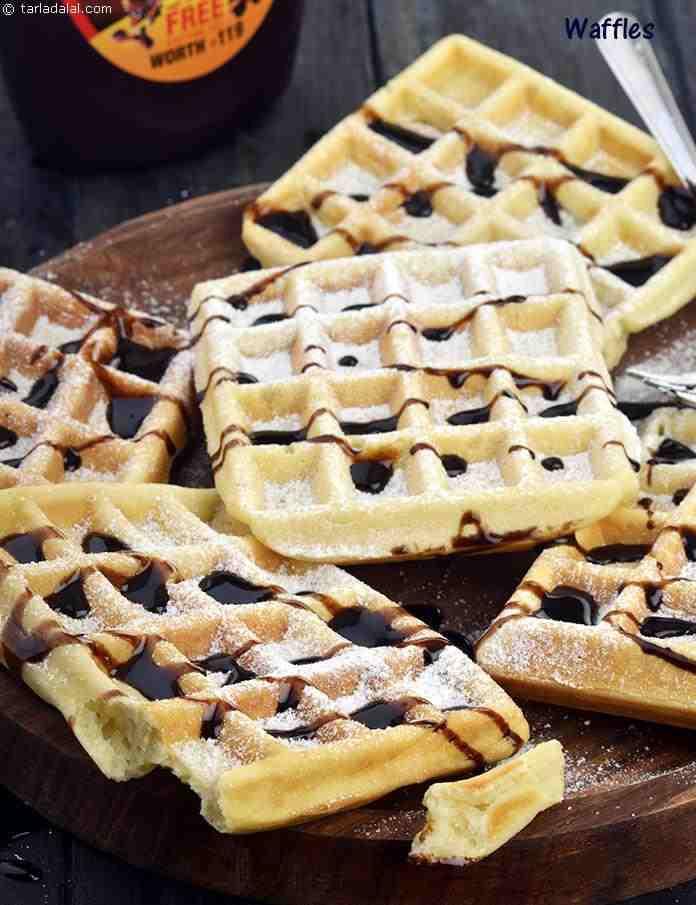 Vegetarian Waffles Recipe  Waffles Waffles Using Eggs recipe