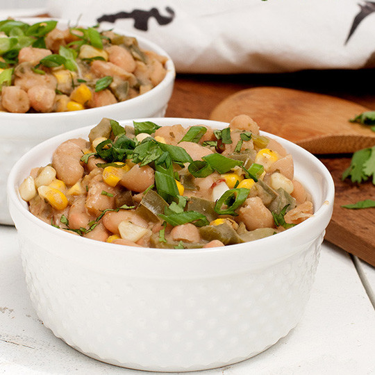 Vegetarian White Bean Chili Recipe  Ve arian White Bean ChiliRecipe
