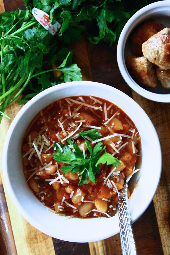Vegetarian White Bean Chili Recipe  Ve arian Chili with White Beans & Wild Mushrooms