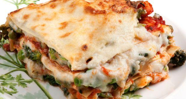 Vegetarian White Lasagna  ve arian lasagna white sauce