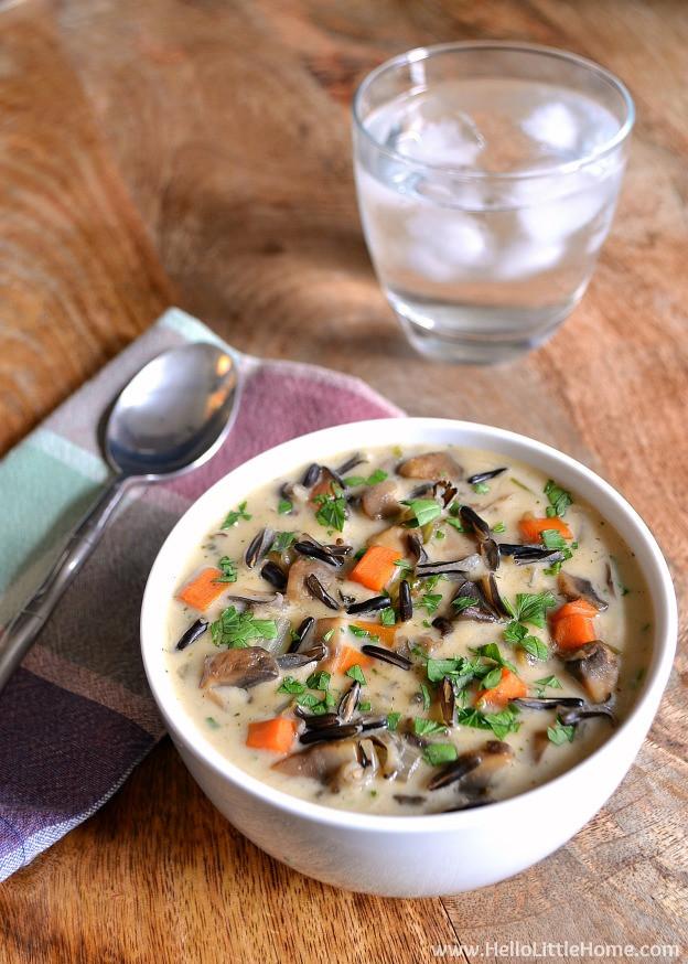 Vegetarian Wild Rice Recipe  ve arian wild rice soup recipe