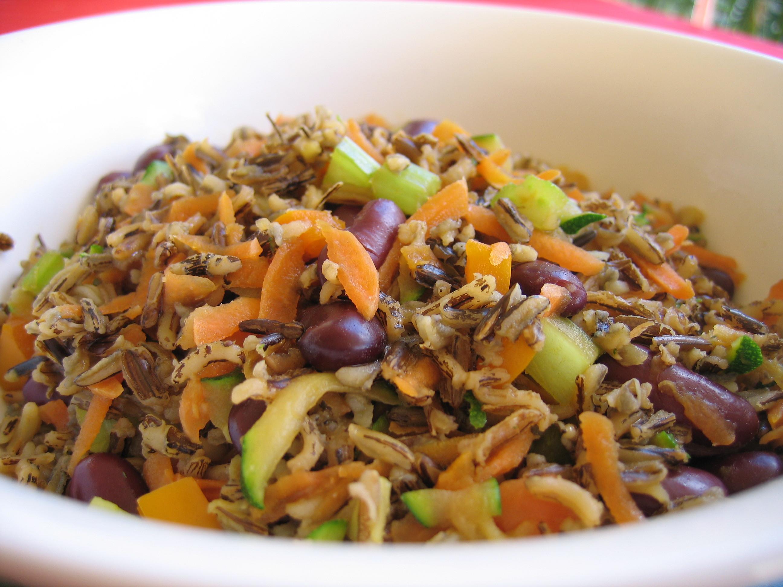 Vegetarian Wild Rice Recipe  Meatless Mondays Fried Wild Rice