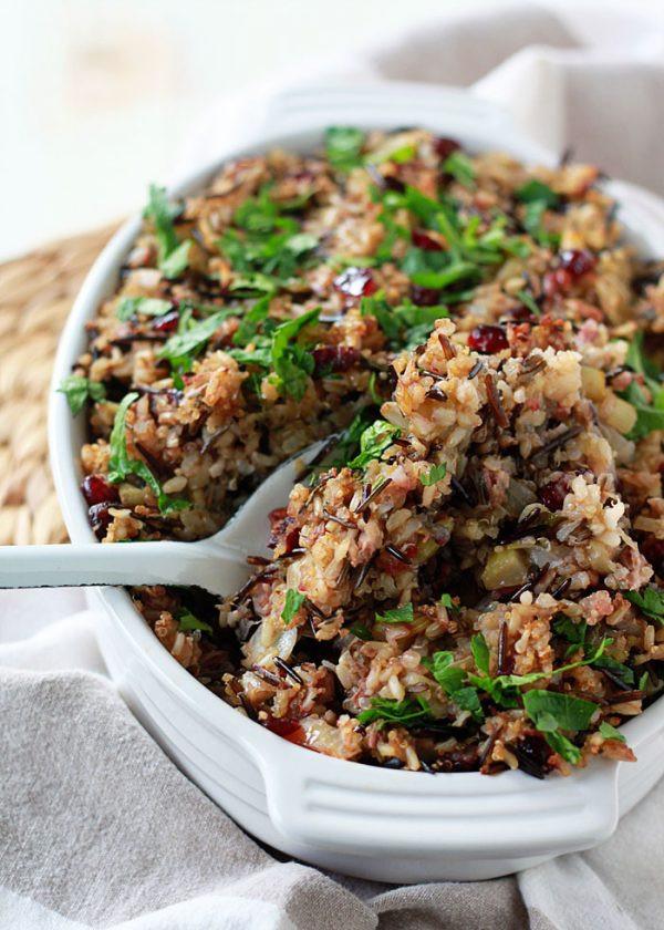 Vegetarian Wild Rice Recipe  9 Ve arian Stuffing Recipes Everyone Will Love