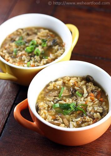 Vegetarian Wild Rice Soup  Porcini & Wild Rice Soup We [Heart] Food