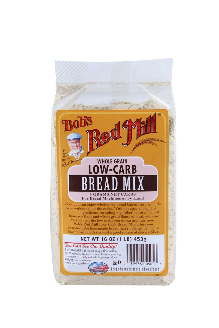 Vital Wheat Gluten Recipes Low Carb  Low Carb Bread Mix Keto