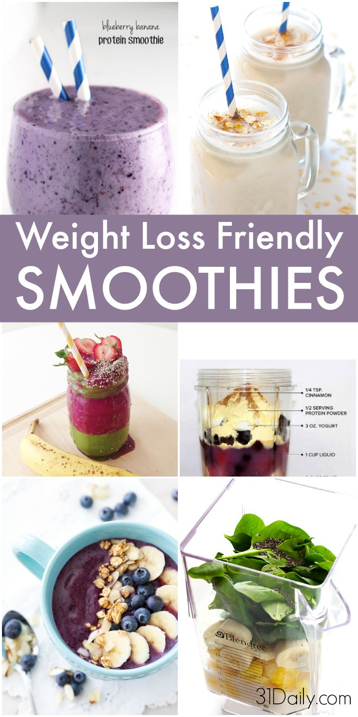Weight Loss Breakfast Smoothies  9 Skinny Breakfast Smoothies to Aid Weight Loss 31 Daily