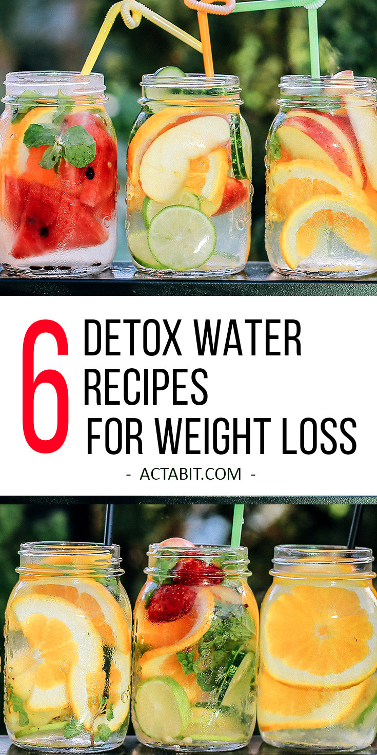 Weight Loss Cleansing Recipes  detox water for weight loss and clear skin