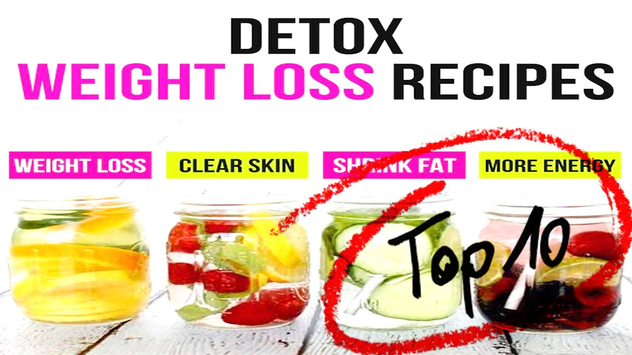 Weight Loss Cleansing Recipes  detox water recipes for weight loss