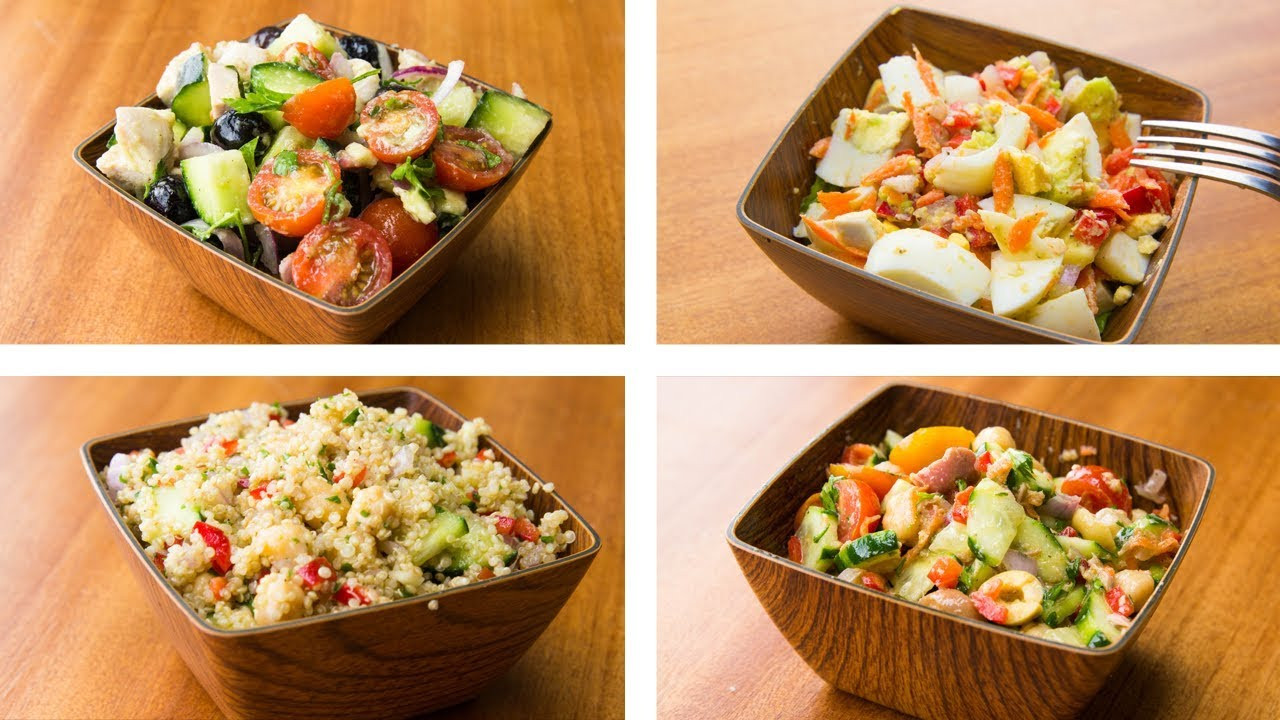 Weight Loss Salads Recipes  4 Healthy Salad Recipes For Weight Loss