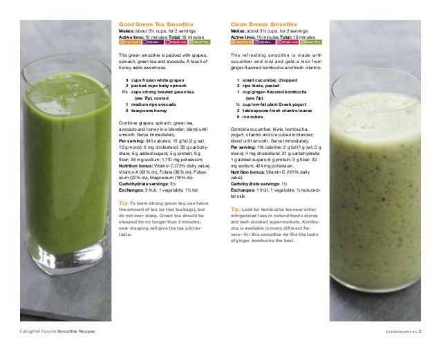 Weight Loss Smoothies For Diabetics  breakfast smoothie recipes for diabetics