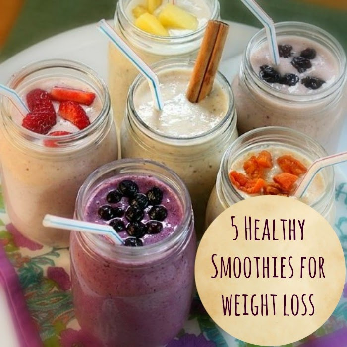 Weight Loss Smoothies Mix  5 Healthy smoothies that help you lose weight The Seaman Mom