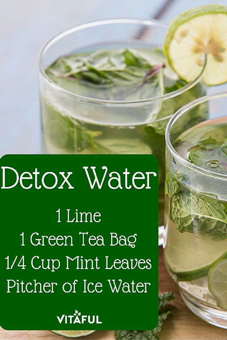 Weight Loss Tea Recipes  Green Tea Detox Water Recipe For Weight Loss