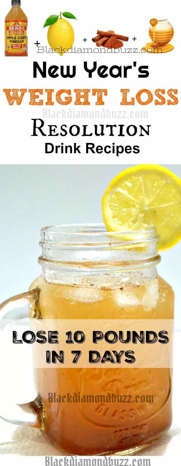 Weight Loss Tea Recipes  DIY Apple Cider Vinegar Detox Drink Recipe for Fat Burning