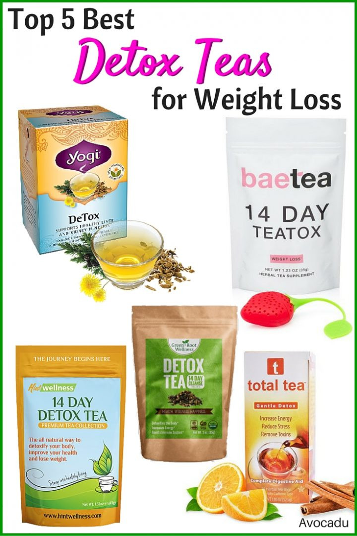 Weight Loss Tea Recipes  5 Best Detox Teas for Weight Loss Avocadu