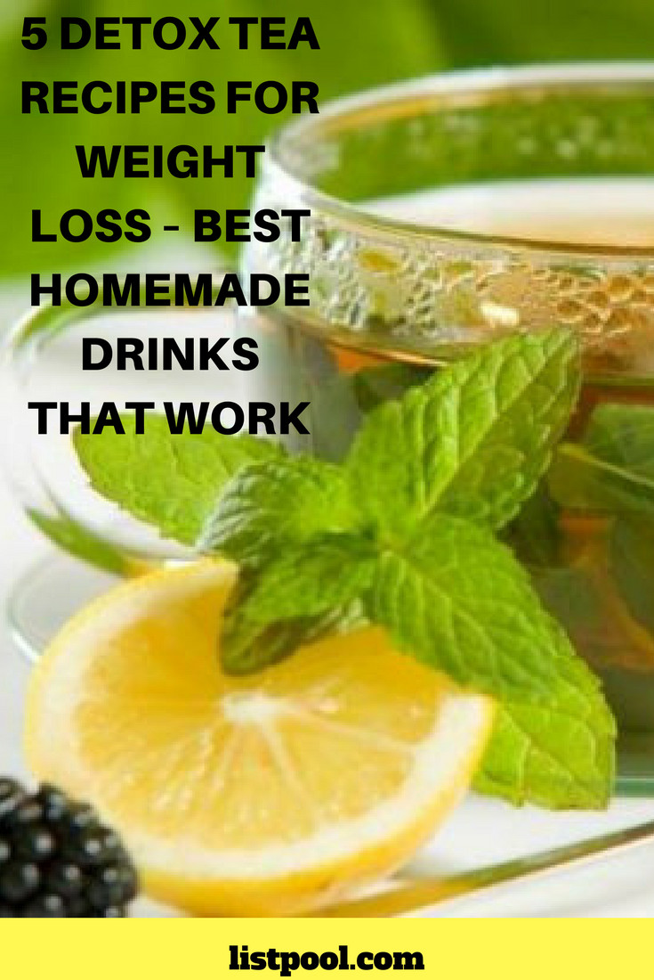 Weight Loss Tea Recipes  Homemade Laxatives To Lose Weight Fast – Blog Dandk