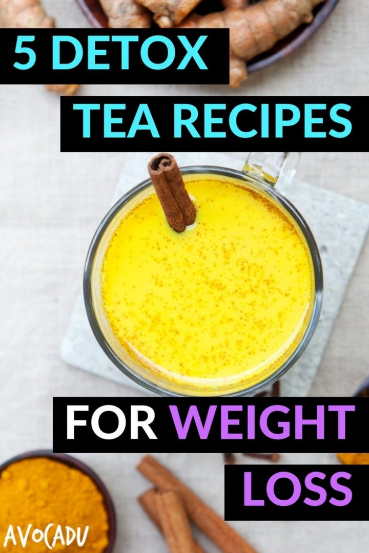 Weight Loss Tea Recipes  5 Detox Tea Recipes for Weight Loss