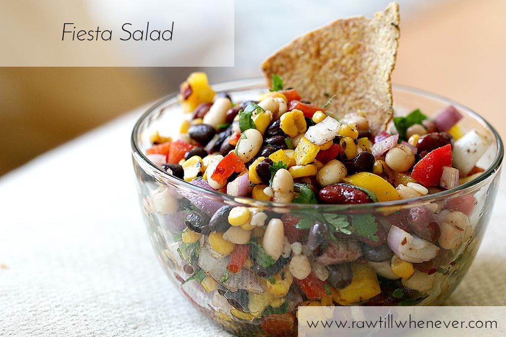 Weight Loss Vegan Recipes  Vegan Fiesta Salad Raw Till Whenever