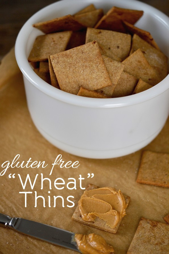 """Wheat And Dairy Free Recipes  Gluten Free Crackers """"Wheat"""" Thins Copycat Recipe"""