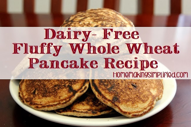 Wheat And Dairy Free Recipes  Homemaking Simplified Fluffy Dairy Free Whole Wheat
