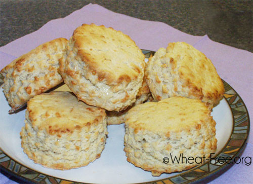 Wheat And Dairy Free Recipes  Wheat & gluten free Cheese Scones recipe