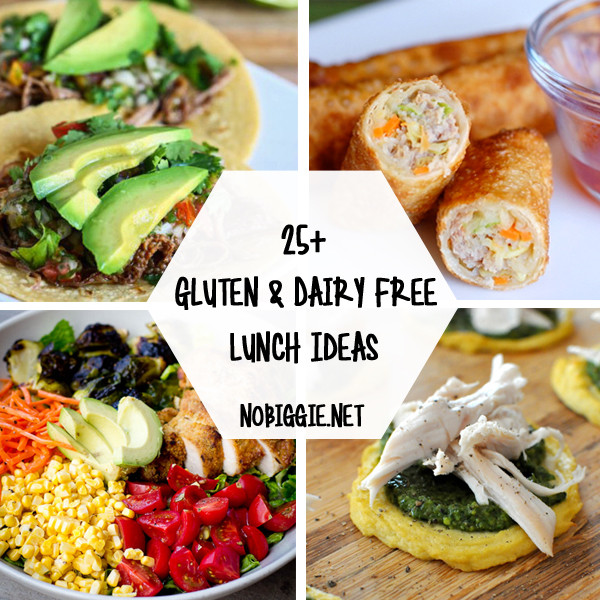 Wheat And Dairy Free Recipes  25 Gluten Free and Dairy Free Lunch Ideas