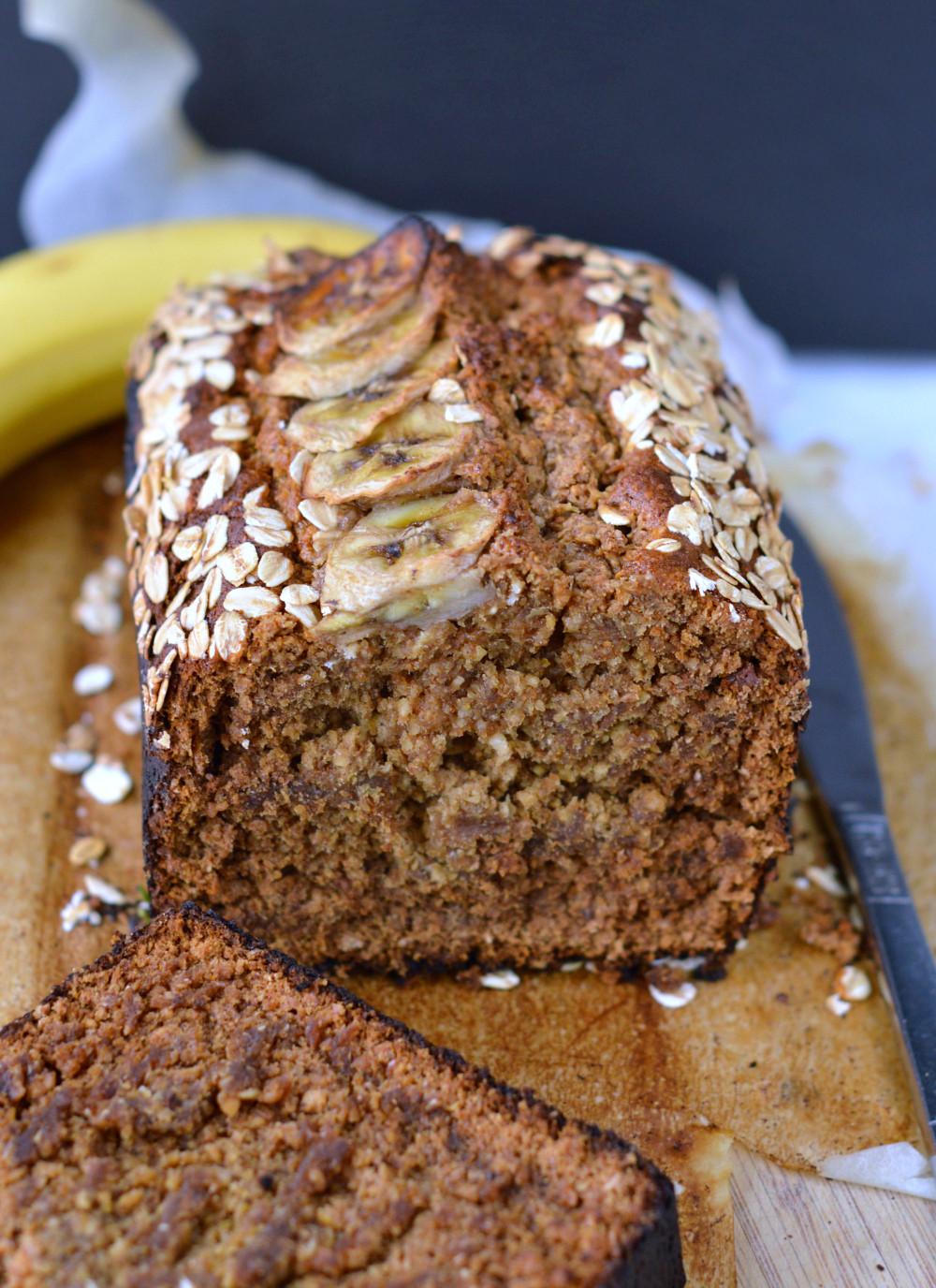 Which Bread Is Vegan  Oatmeal banana bread